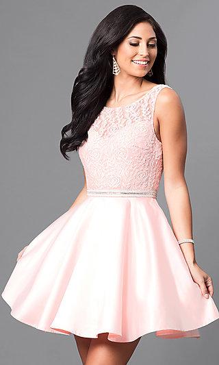 Reception Dinner Dresses, Semi-Formal White Dresses