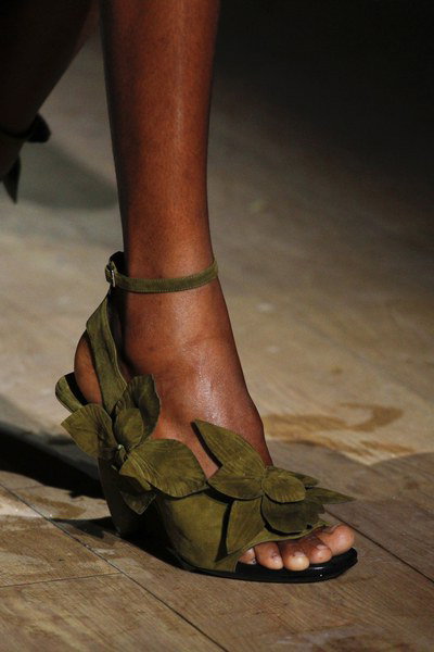 Dries Van Noten Shoes Spring 2017 At Paris Fashion Week