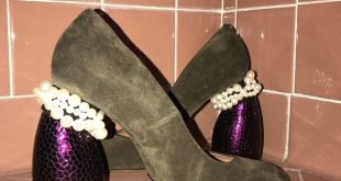 Dries Van Noten Shoes   Pearl Embellished Suede Courts   Poshmark