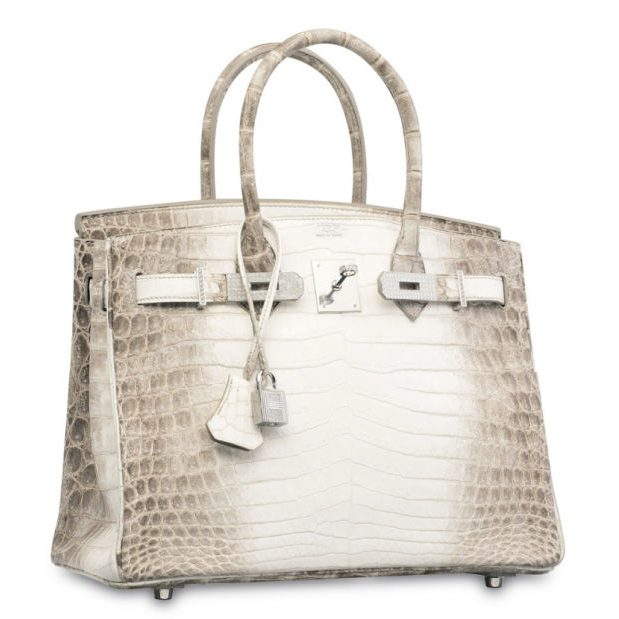 The world's most expensive handbag: an Hermès Birkin bag sells at