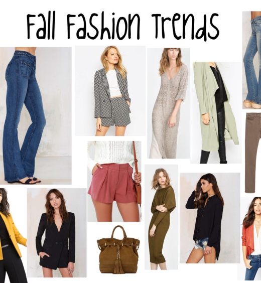 Fall Fashion Trends For 2015 - Pink and Blue Magazine