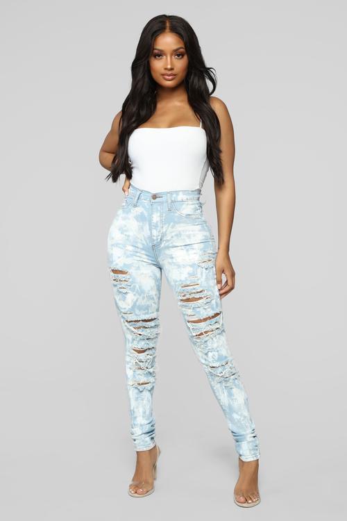 Womens Jeans | Boyfriend, Denim, High Waisted, Mom, Skinny, Ripped | 2