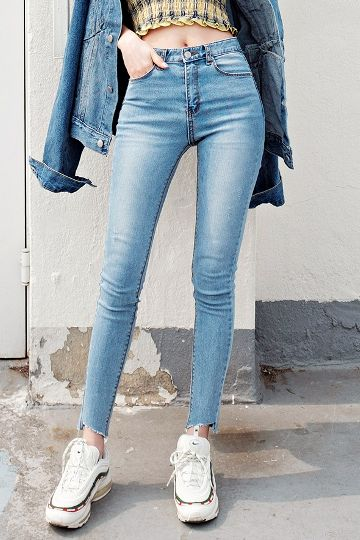 Korean Jeans | Korean Fashion Jeans for Women Online