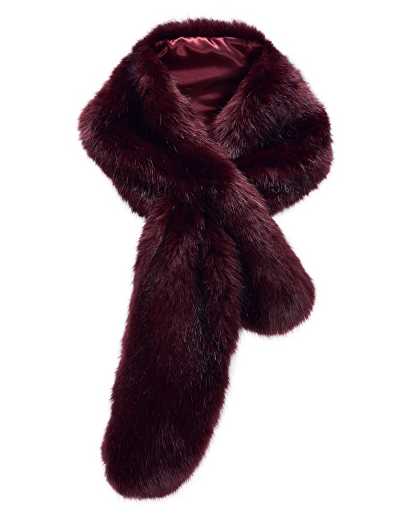 Faux Fur Scarf,Pure Collection