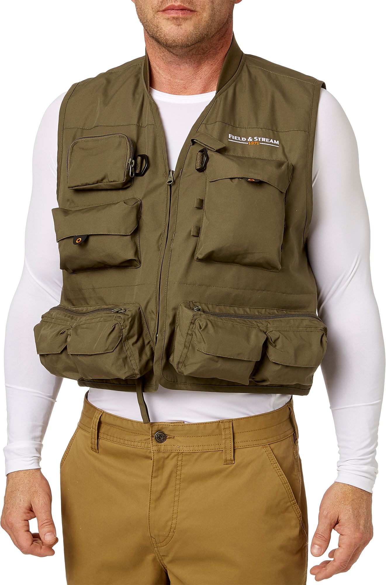 Field & Stream Men's Multi Pocket Fishing Vest | DICK'S Sporting Goods