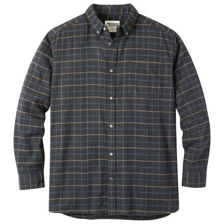 Downtown Flannel | Men's Plaid Flannel Shirt | MK