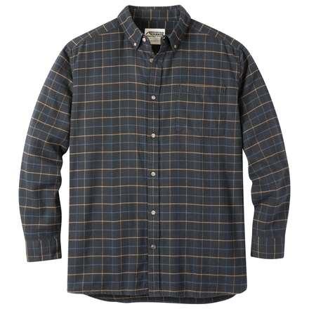 Downtown Flannel   Men's Plaid Flannel Shirt   MK