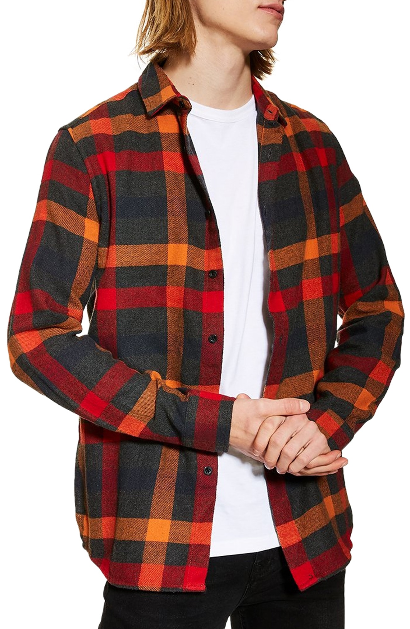 Men's Flannel Shirts   Nordstrom