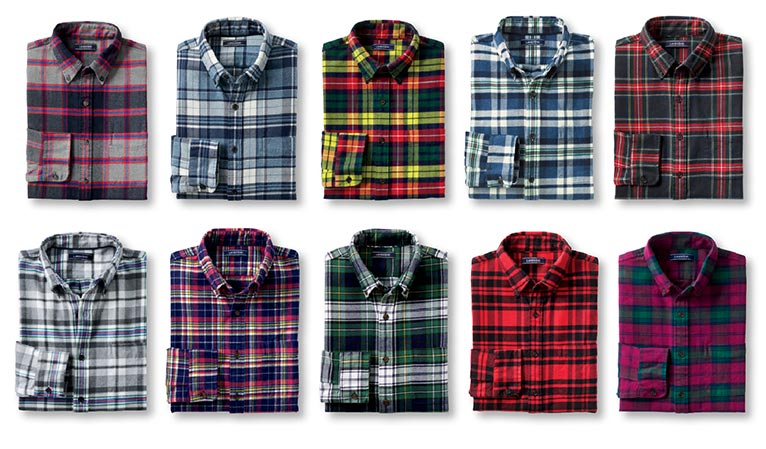 Lands' End | Men's Flannel Favorites