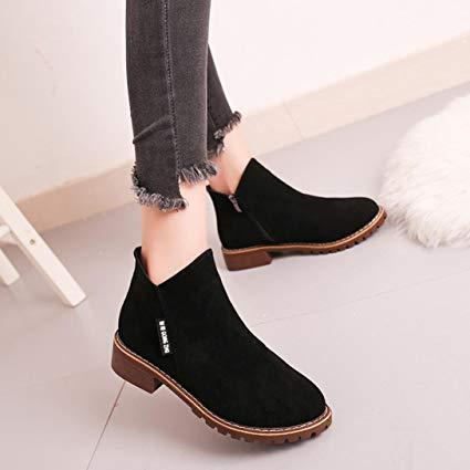 Amazon.com: Hemlock Women Dress Flat Shoes, Womens Women Boots Shoes