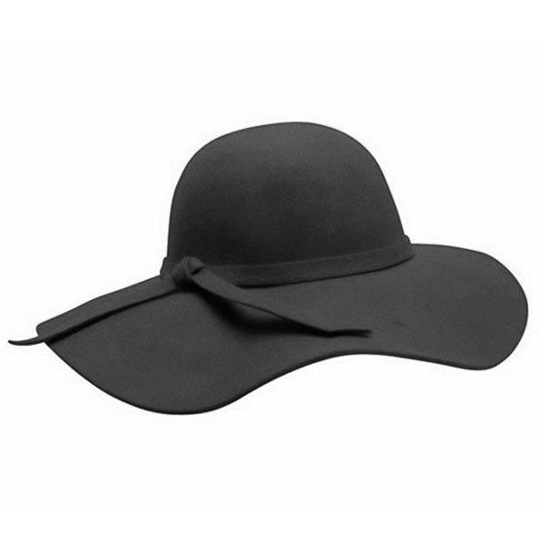 Downtown Style   Wool Felt Floppy Hat   Hats Unlimited