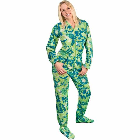 Get the best range of footed   pajamas for women