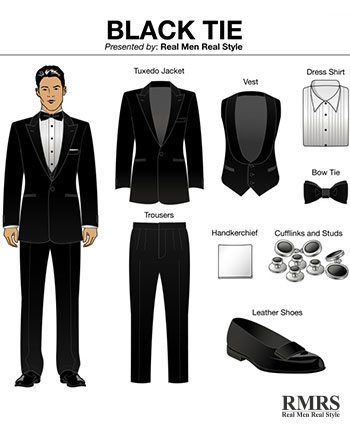 How To Dress Up For A Formal Event | 6 Components Of A True Tuxedo