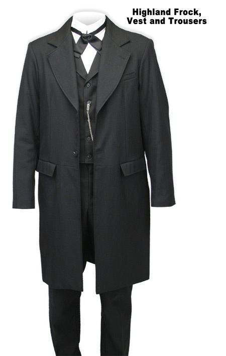Highland Frock Coat by Wahmaker