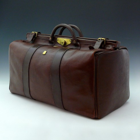 Bentleys u2014 Large Leather Gladstone Bag