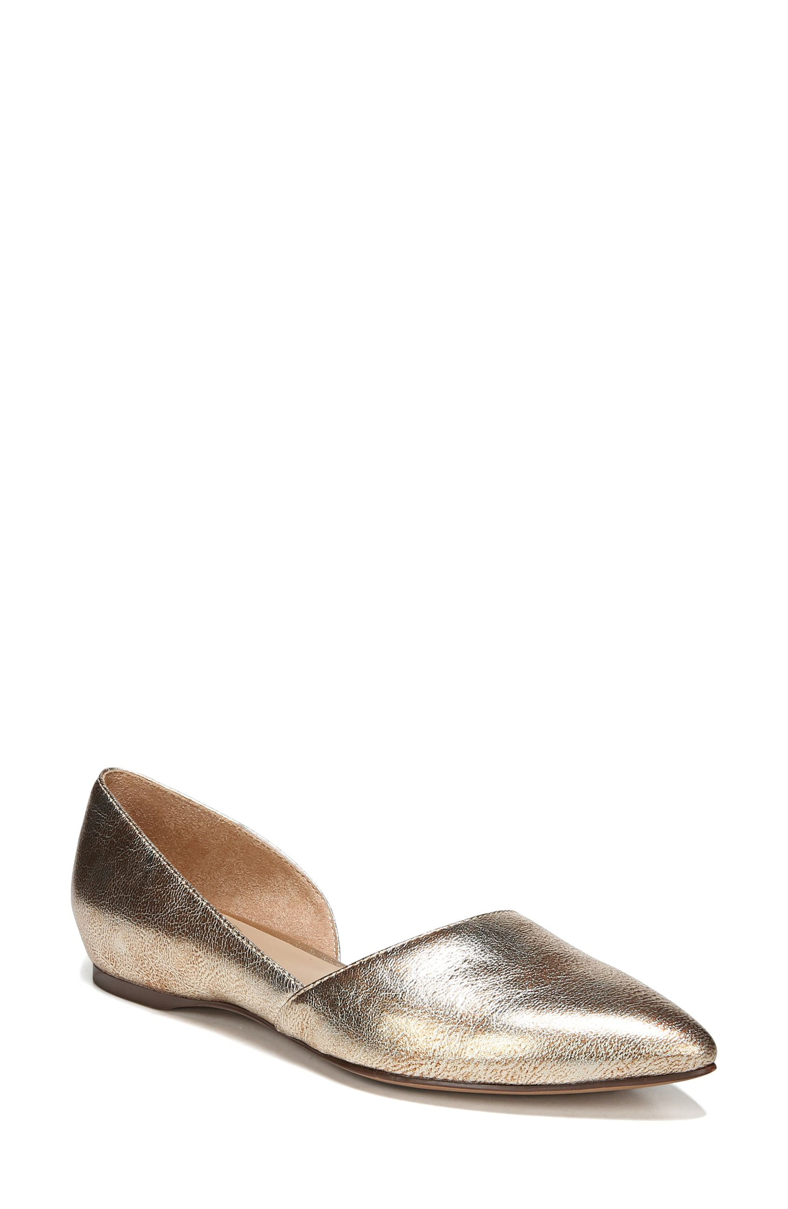 gold flats | Nordstrom