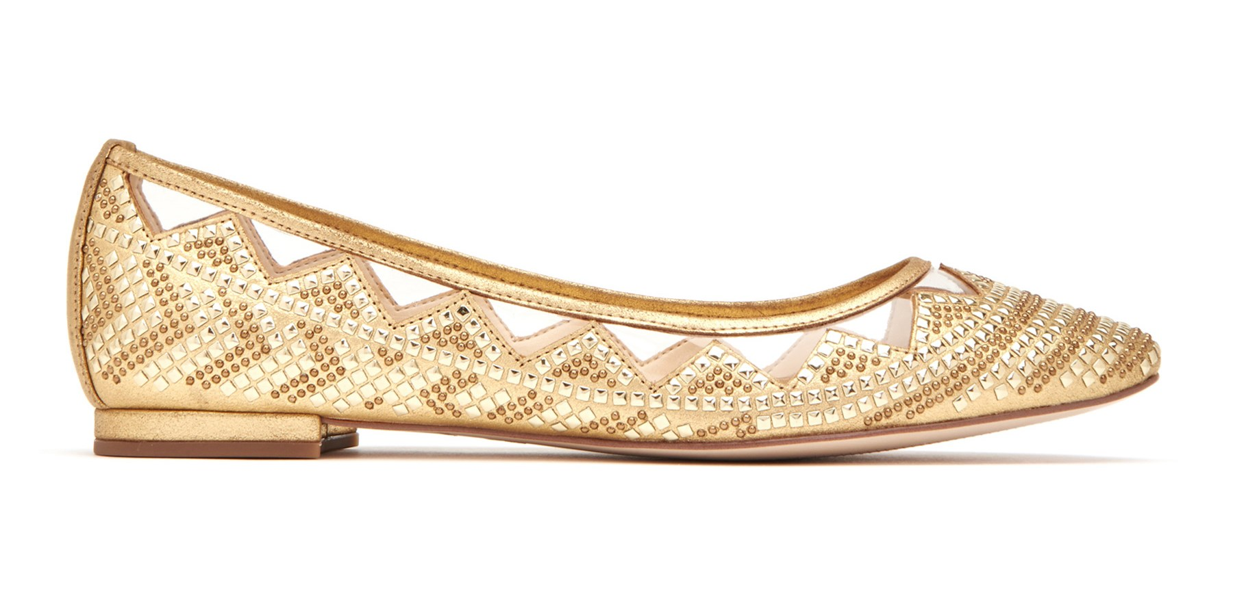 THE HESITA - Gold Flats - Katy Perry Collections