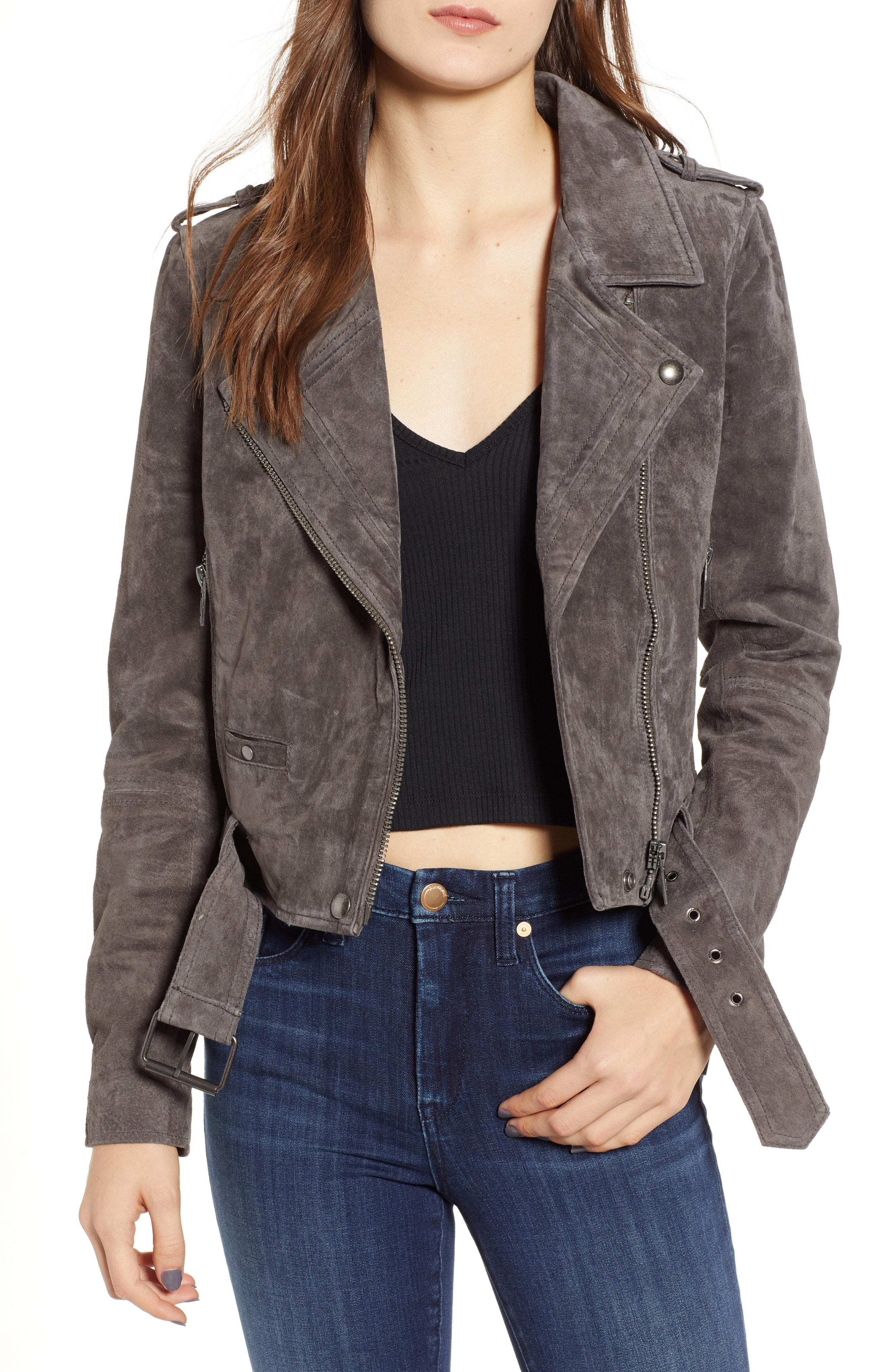 Women's Leather & Faux Leather Coats & Jackets | Nordstrom