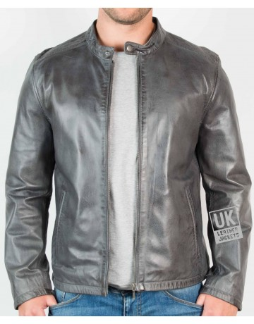 Mens Leather Biker Jackets | UK LJ