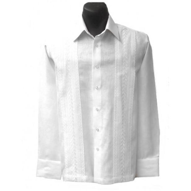 Perfect White Wedding Guayabera Shirts for Men - Elegante