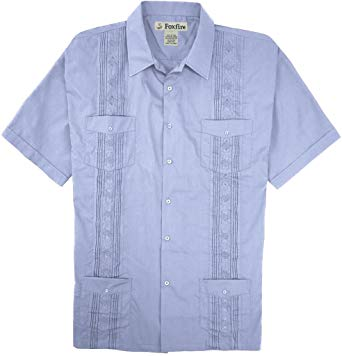 Amazon.com: Foxfire Big & Tall Men's Guayabera Casual Shirt: Clothing