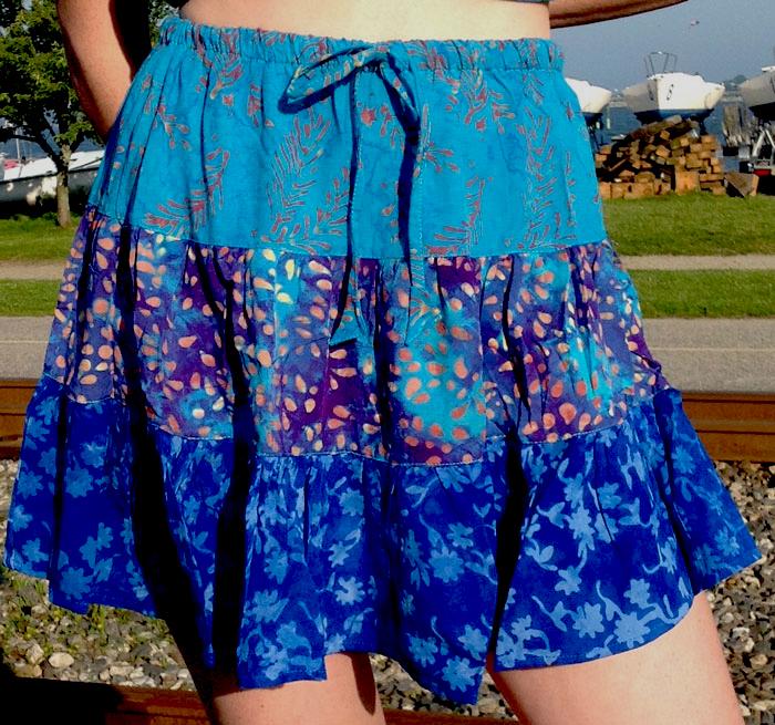 Short Gypsy Skirt