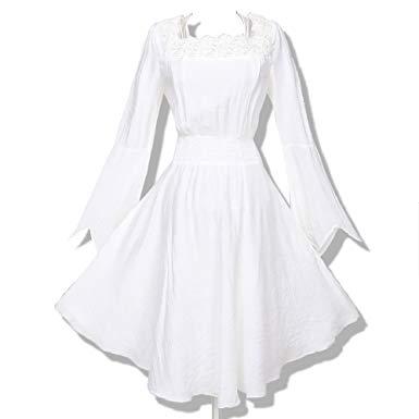 Amazon.com: Women's Clothing Gothic Gypsy Sleeve Long Tunic Tops