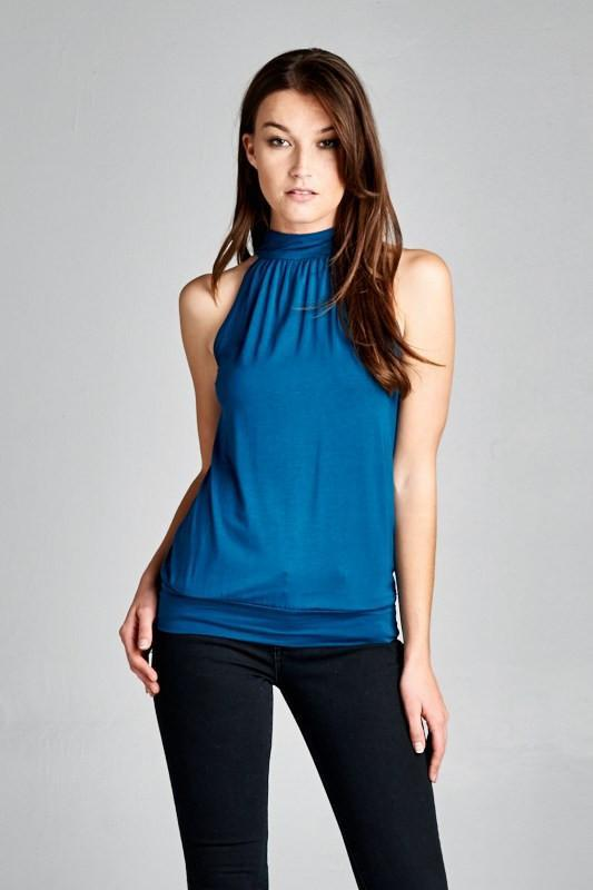 Choose the trendy tops to   suits your personality with halter neck tops