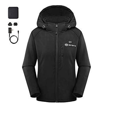 Amazon.com: ororo Women's Slim Fit Heated Jacket with Battery Pack