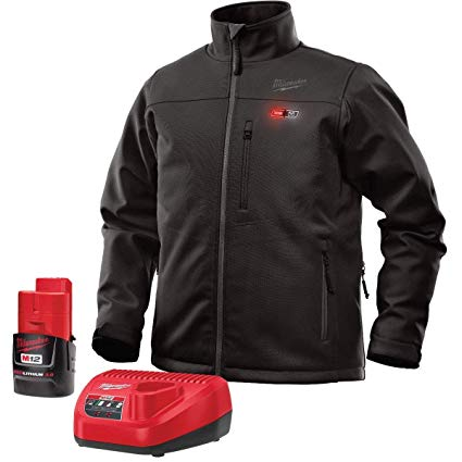 Milwaukee M12 Heated Jacket Kit - Battery and Charger Included
