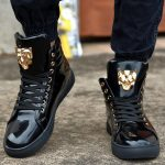 Add the perfect footwear to   your style with high top sneakers for men