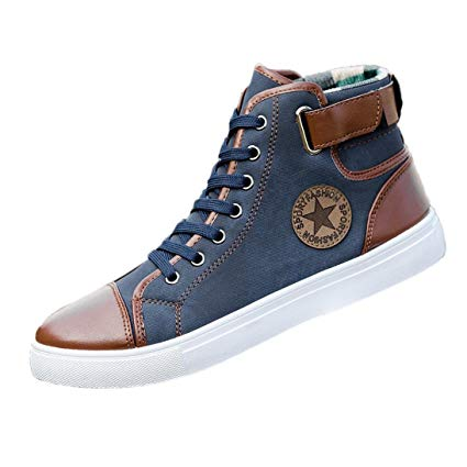 Amazon.com: WuyiMC Sneakers,Men Women Causal Shoes Lace-Up Ankle