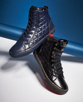 GUESS Men's Melo High-Top Sneakers - All Men's Shoes - Men - Macy's
