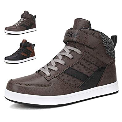 Amazon.com | WETIKE Sneakers Mens Shoes High Top Kids Skate Shoes