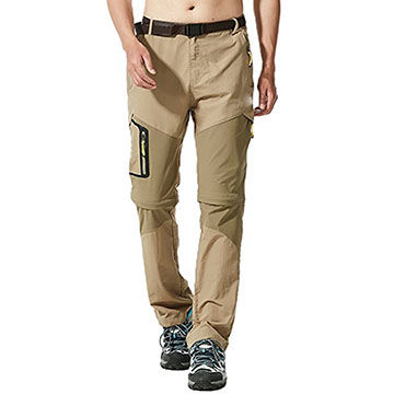 China Men's hiking pants with breathable and windproof, waterproof