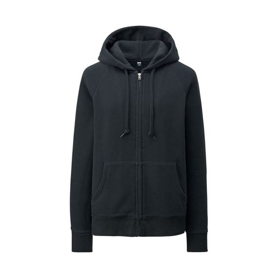 WOMEN Sweat Full-Zip Hooded Jacket - EXTRA SIZES - Featured - WOMEN