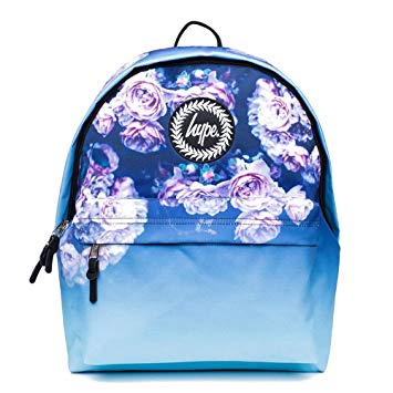 Hype Backpack School Bag Rucksack Bags - Rose Fade Multi: Amazon.co