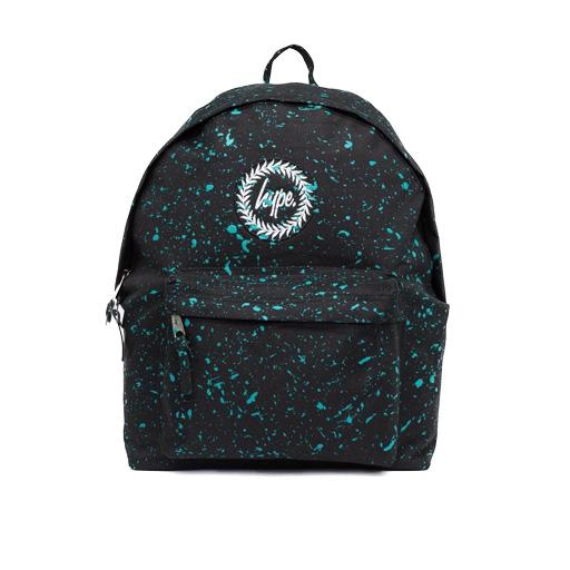 Hype Black with Mint Speckle Backpack u2013 Sussex Uniforms