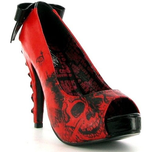 Iron Fist Heels-Iron Fist Shoes :Iron Fist Shoes