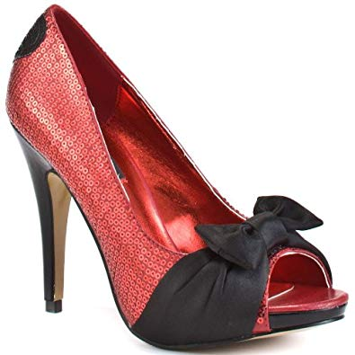 Amazon.com | Iron Fist Jens Heart Heel - Red | Pumps