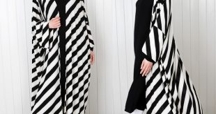 Abayas for women kimono design with long sleeves and open front