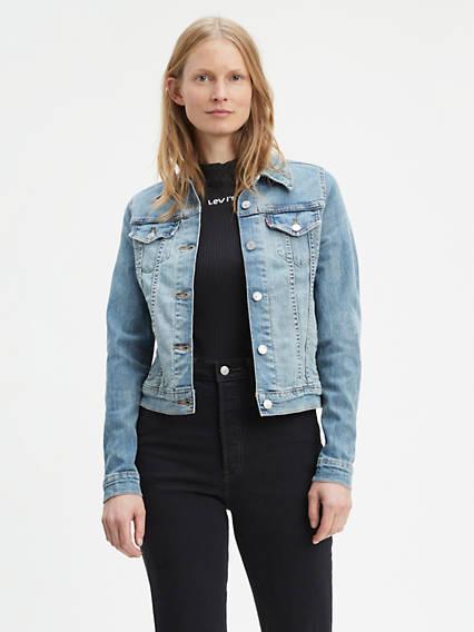Jean Jackets - Shop Women's Denim Jackets & Outerwear | Levi's® US