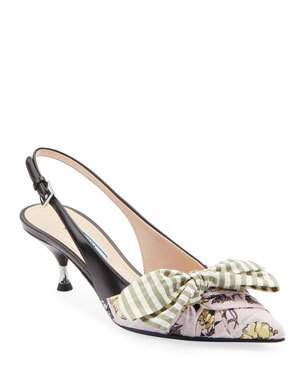 Trending Kitten Heel Shoes at Neiman Marcus