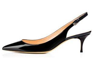 Amazon.com | VOCOSI Slingbacks Pumps for Women, Low Kitten Heels