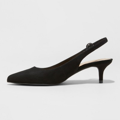 Women's Meghan Kitten Heel Pumps - A New Day™ : Target