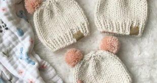 Basic Knitted Baby Hat | AllFreeKnitting.com
