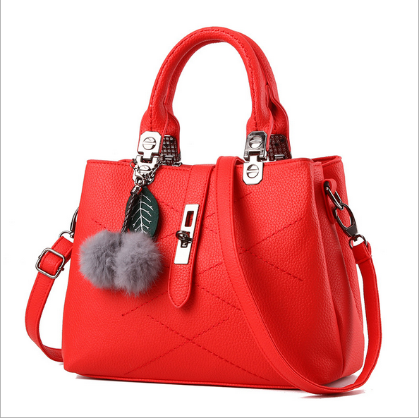 Fy 2017 Ladies Bags Handbag Leisure Pu Leather Lady Fashion Handbag