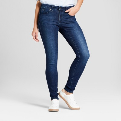 Women's Mid-Rise Skinny Jeans - Universal Thread™ Dark Wash : Target