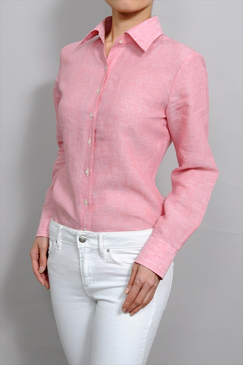 ozie: Ladies shirts ladies shirt long sleeve shirt wide color made