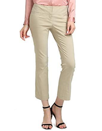 ATOUR Women's Bootcut Dress Pants Stretch Comfy Work Trousers Office